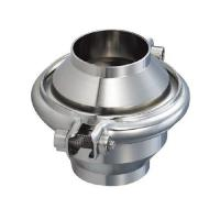 China High Sanitation Hygienic Check Valve For Water Pipelines Weld Connection End on sale