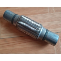 Quality 57mm Custom Heavy Duty 201 Stainless Steel Exhaust Flex Pipe for sale
