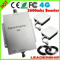 Quality Cover 300m2 4G 2600mhz booster 4G mobile phone signal repeater with panel antennas indoor/ for sale