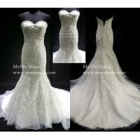 Quality Elegant Applique Mermaid Sweetheart Beaded Wedding Dress Bridal Gown with Crystal BYB-14501 for sale