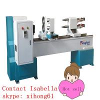 hot sale lowest factory price for Mini automatic wood turning lathe