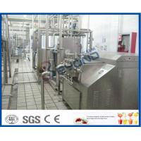 Quality Multifunctional 5000LPH  Milk Processing line with pasteurized milk , UHT, cream and butter for sale