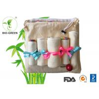 Quality Velour Cloth Bamboo Organic Baby Wipes Gentle Softness For Baby Sensitive Skin for sale