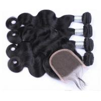 Quality New Natural Hairline Lace Top Closure , Pre Plucked 360 Lace Frontal With Wig Cap for sale