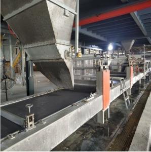 Quality Certificate Sanding MgO Board Production Line And Cement Board Production Line for sale