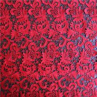 Quality China Wedding Dress Chemical Embroidery Lace for sale