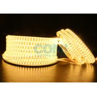 Quality 2835 Dual Row LED mount 168 LED / M High Voltage LED Strip Light 1000LM / Meter  for sale