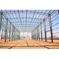 Quality Multi Span Steel Structure Warehouse Buildings Light Metal Warehouse Construction for sale