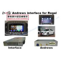 Quality Android GPS Video Interface Car Multimedia Navigation System for Buick Regal for sale