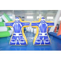 Buy cheap 0.6MM PVC Inflatable Paintball Obstacle With Custom Printed product