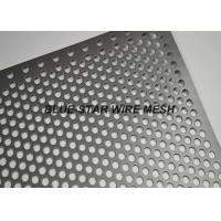 Quality Fencing / Gate Aluminium Perforated Metal Sheet / Coil With 45 60 90 Degree Punching Hole for sale