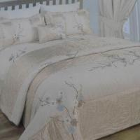 Quality Embroidery Quilt Comforter, Customized Packaging Ways are Accepted for sale