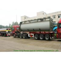 Quality UN1789  Hydrochloric Acid ISO Tank Container , Chemical ISO Liquid Container 30FT for sale