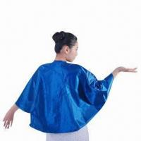 Quality Shampoo Cape with EVA Bib Water-resistant Acrylic Coating, Suitable for Hair Washing for sale