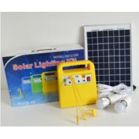Quality FT-1210W LFP Battery Lighting Power Storage 18V 10W With 6m Wire Solar Panels for sale