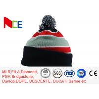 Quality Eco Friendly Warm Knit Beanie Hats For Adults Design Your Own Logo Available for sale