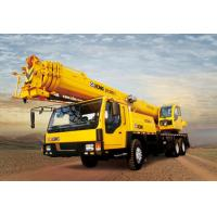 Buy cheap Durable Construction Site QY35K5 Truck Crane Hydraulic Mobile Crane With Torque Limiter from wholesalers