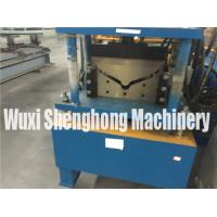 China 4m Length Roof Flashing Gutter Making Machine With Gearing Rigging on sale