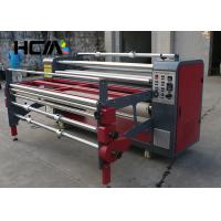 Quality Textile Rotary Heat Press Machine Sublimation Heat Press Equipment For Scarf for sale