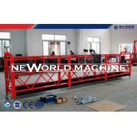 Quality Red Yellow Blue Rope Suspended Platform Cradle for Exterior maintenance cleans for sale