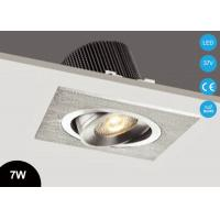 Buy cheap Adjustable 7W COB LED Recessed Spot Downlight Housing Fixture CE RoHs 2700~3000K 37V from wholesalers