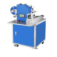 Buy cheap Wooden spoons labeling machine ,table labeling machine for round, sticker labeling machine for square bottle from wholesalers