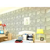 Quality Christmas Decoration 3D Living Room Wallpaper , 3D Effect Wall Panels for Theatre for sale
