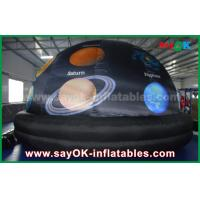 Buy cheap 210 D Oxford Cloth And Projection Inflatable Planetarium Dome Black Color from wholesalers