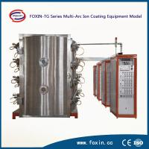 China Bath Fitting Vacuum PVD Coating Machine on sale