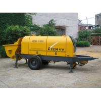 Quality Stationary Trailer Mounted Concrete Pump HBT80.13.110S With Motor Power for sale