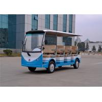 Comfortable11 Seater Electric Shuttle Bus Sightseeing Car For Tour