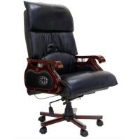Quality Genuine Leather Executve China Office Massage Chair for sale