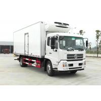 Quality 10 Ton Donfeng Refrigerated Delivery Truck , Refrigerator Box Truck With Thermo King Refrigerator for sale