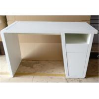Quality Stable Modern Furniture Table Rectangular Computer Desk For Bedroom / Office for sale