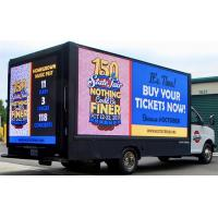 China Digital Truck Mounted  Mobile LED Display For Advertising 1R1G1B  Long Life Span on sale