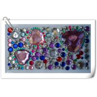 Quality Rhinestone Sticker For Iphone Decoration for sale