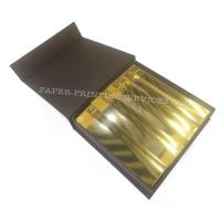 Buy Cute Rigid Setup Box For Glass Bottles / Cookies Cake Paper Gift Packaging Box at wholesale prices