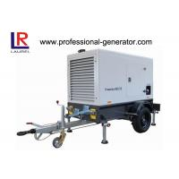 Quality 550KVA Silent Type Portable Mobile Power Generator with Deutz Engine 360AMP for sale