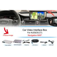 Quality AUDI Navigation Systems Support WIFI / Google MAP Android 4.4 for sale