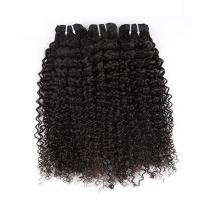 "Buy Natural Color Peruvian Body Wave Hair Bundles Curly Dancing And Soft 10"" To 30"" Stock at wholesale prices"