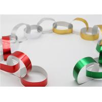 Quality Handy Gummed Wedding Paper Chains Multi Color Available Eco - Friendly Material for sale