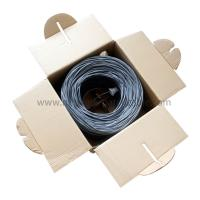 China HDPE / LDPE Indoor Cat5E UTP Cable 4Pr 24Awg Cca Good Performance on sale