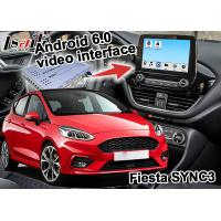 Quality Car Navigation System for Ford Fiesta SYNC 3 / High Speed Android Navigation Box for sale