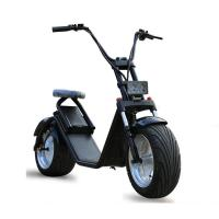 Buy cheap 18*9.5 Inch 1200W Harley Fat Tires 2 Wheel Electric Scooter , Citycoco electric 2 wheel scooter product