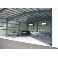 Quality GB JIS Steel Airplane Hangars Prefab Aircraft Hangars Q235B Q345B for sale