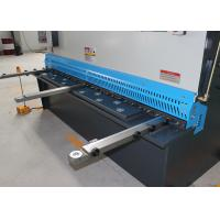 Welded Structure Hydraulic Sheet Metal Shearing Machine With DRO System 16mm 6m