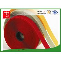 Quality 10mm - 180mm hook and loop tape for sewing , white velcro tape 100% Eco - Friendly for sale