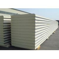 Buy cheap Insulated Polyurethane Sandwich Panel Polyurethane Foam Wall Panels For Clean from wholesalers