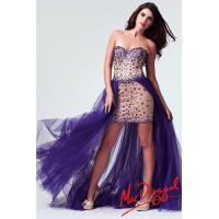 China Party Prom Gowns Short Long Homecoming Dresses With Purple Sweetheart Mermaid on sale