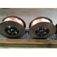 China Gas Shielded Mig Welding Wire , ER70S Copper Coated Welding Wire With Spool on sale